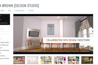 Anita Brown Design Studio Screenshot