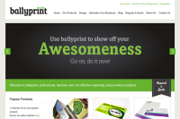 Ballyprint Website