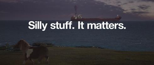Silly Stuff. It Matters